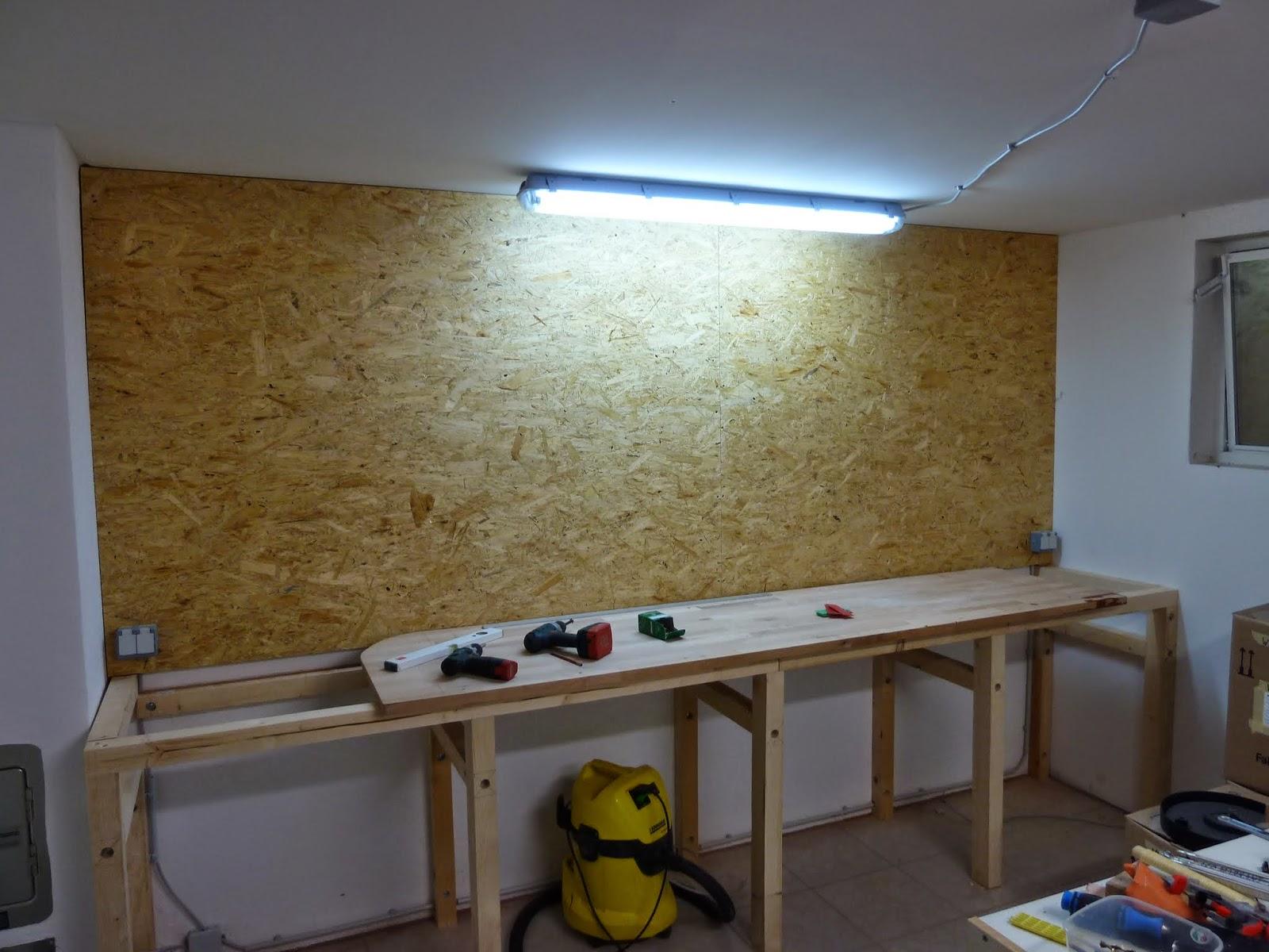 hobbywerker neue werkstatt teil 2 aufbau der werkbank. Black Bedroom Furniture Sets. Home Design Ideas