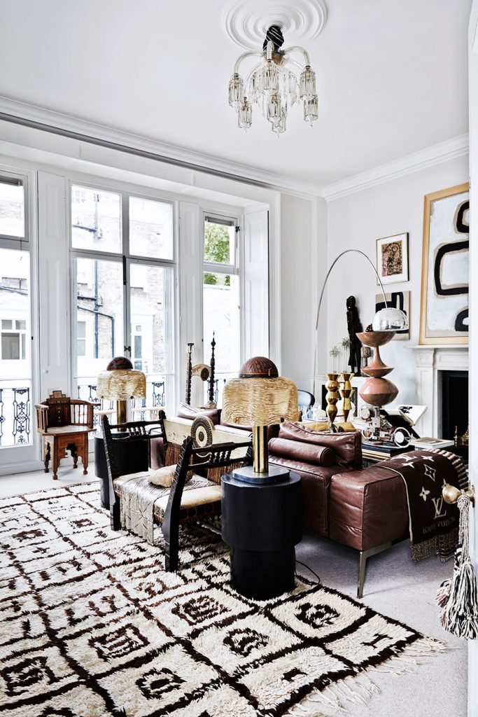 Decordemon malene birger 39 s sophisticated london home for Home decorations london