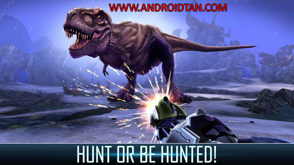 Free Download Dino Hunter Deadly Shores Mod Apk v3.1.1 (Unlimited Money) Terbaru 2017