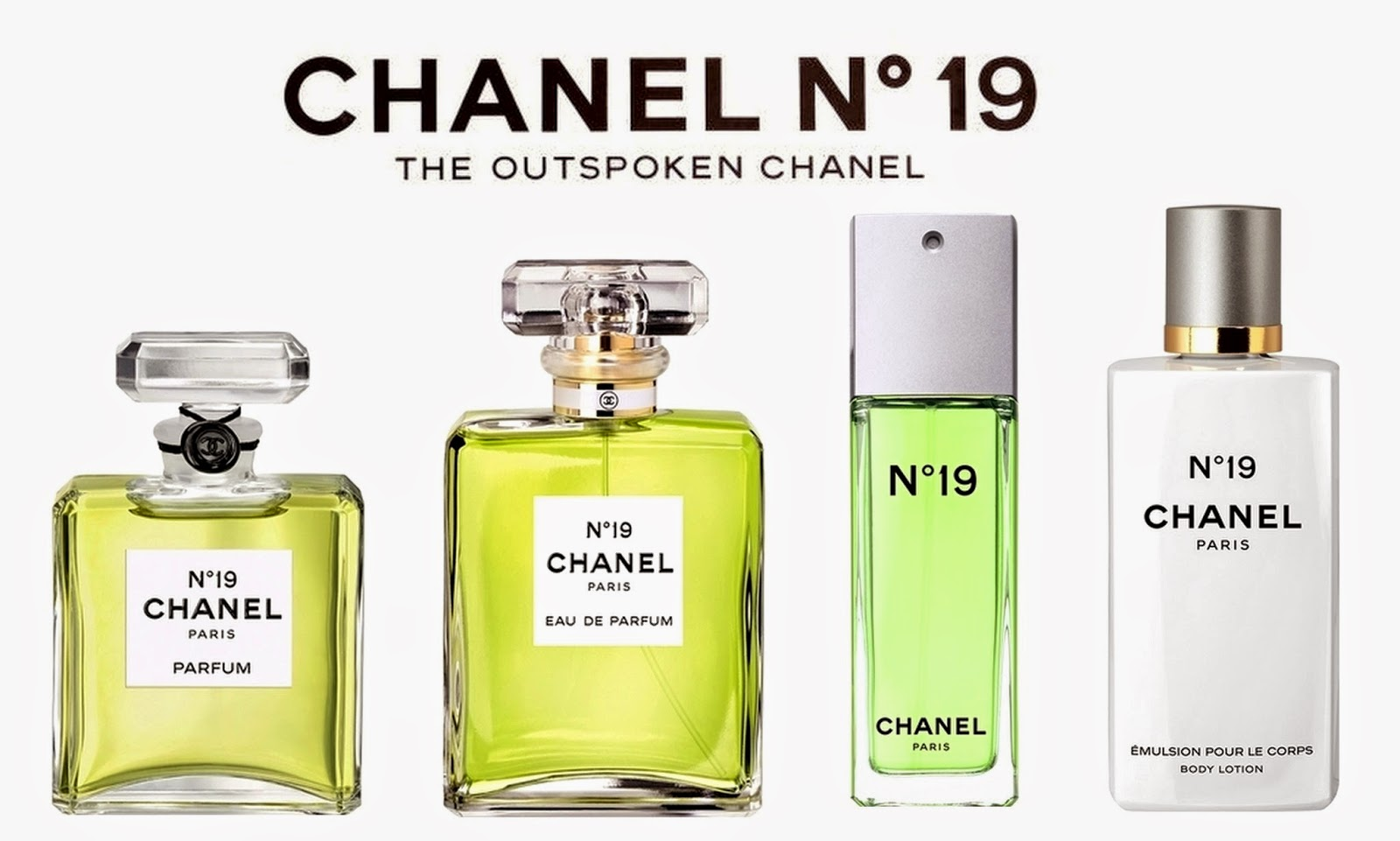 a15237e581 Chanel Perfume Bottles: Chanel No. 19 c1970