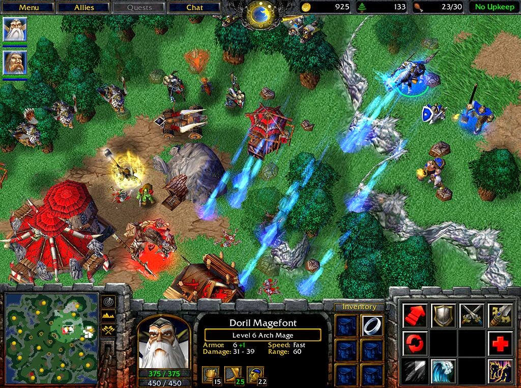 game warcraft 3 reign of chaos indowebster