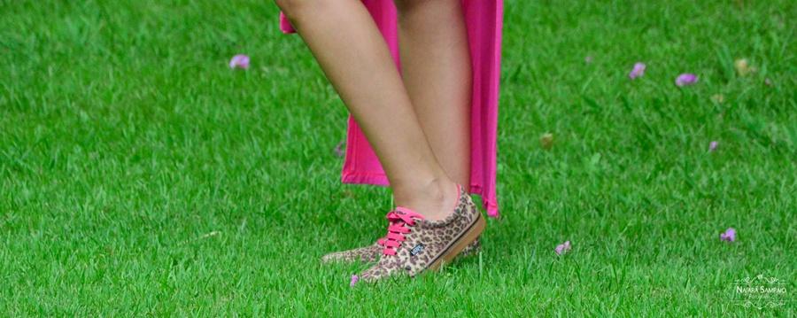 tênis vans onça rosa