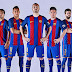 Uniformes do Barcelona para a temporada 2016/17