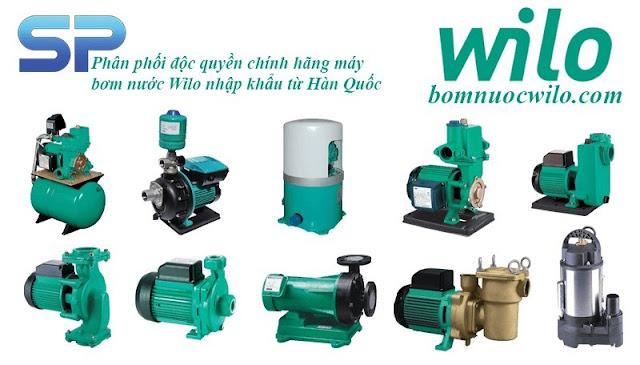 Sơ lược về dòng máy bơm nước Wilo Đức - Ảnh 1