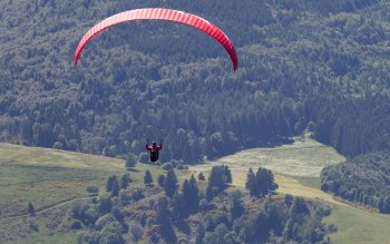 Wallpaper: Sport Flight Skygliding Paragliding