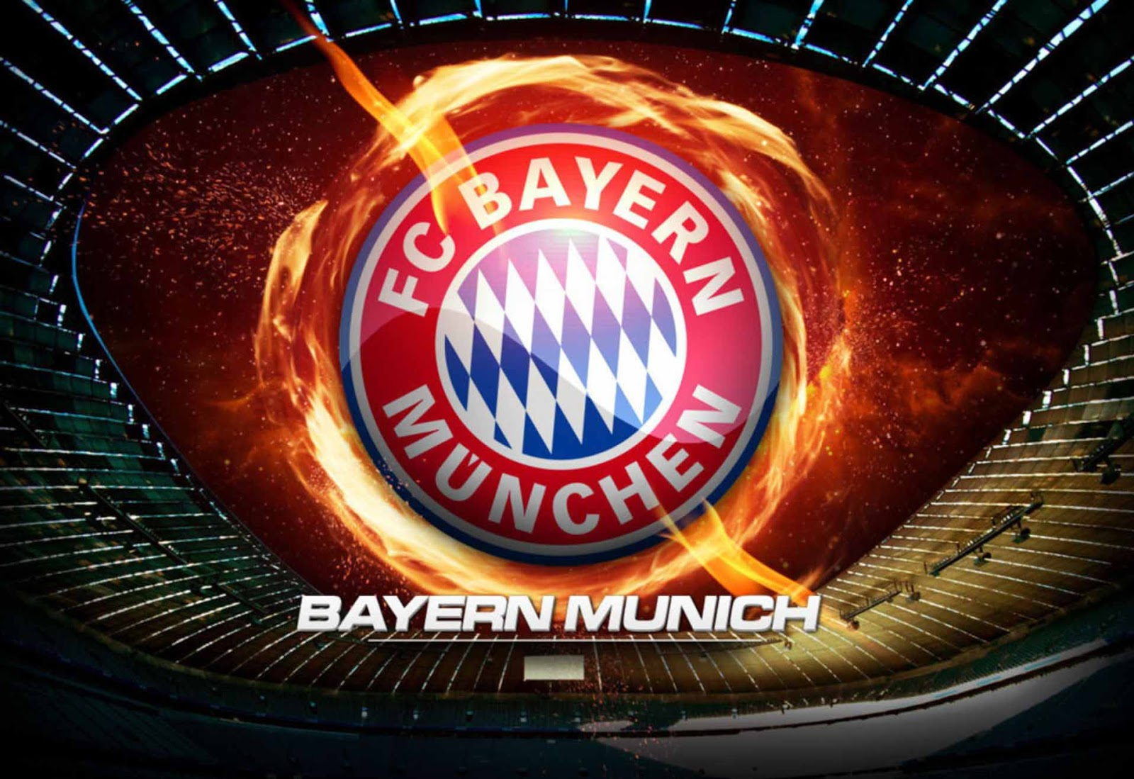 Wallpaper fc bayern munchen wallpapersforfree gambar logo bayern munich keren voltagebd Images