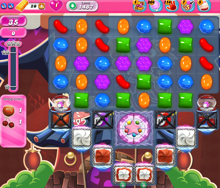 Candy Crush Saga 1487