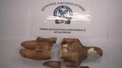 Κόρινθος: Προσπάθησαν να πουλήσουν αρχαϊκό Κούρο έναντι 200.000 ευρώ