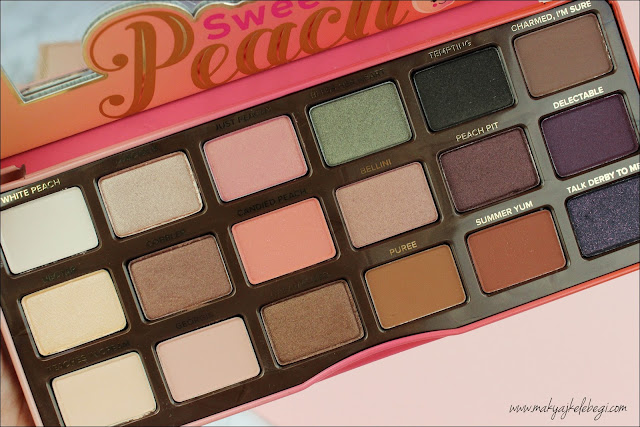 Too Faced Sweet Peach Far Paleti Yorumlar