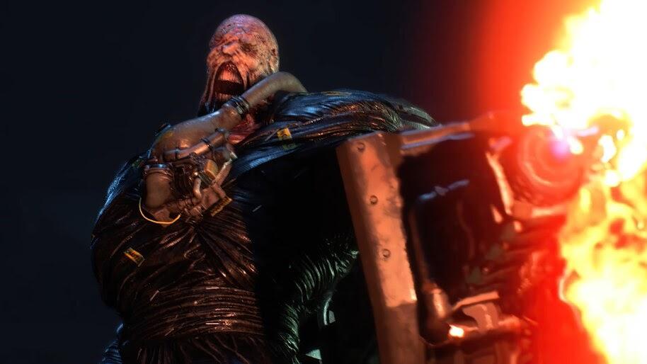 Nemesis Resident Evil 3 Remake 4k Wallpaper 7 821