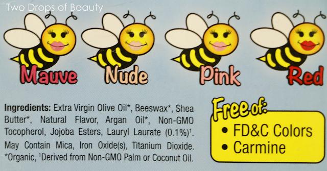 ингридиенты, состав, бальзам для губ, sierra bees