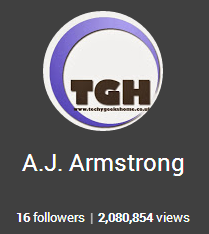 Over 2 million views on Google+ for TechyGeeksHome! 1