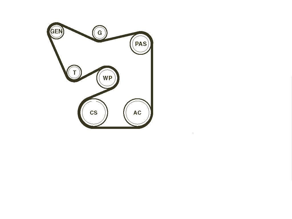Belt Diagram Chevy Silverado