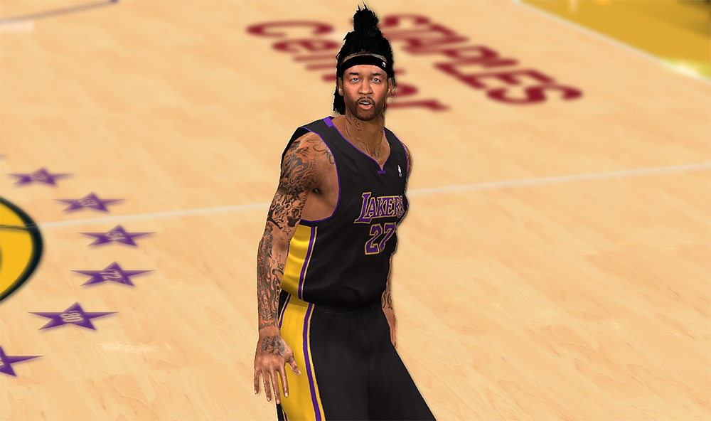 Jordan Hill's New Hairstyle Patch | NBA2K