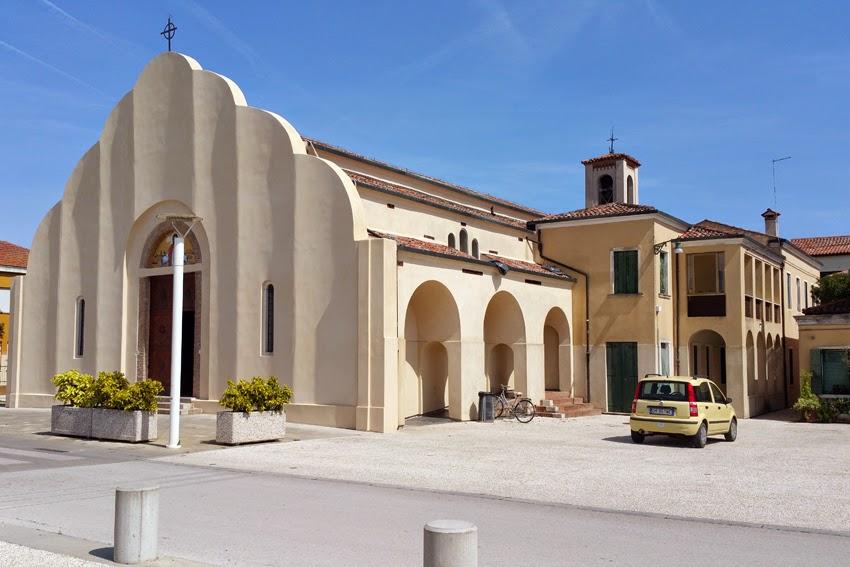Kościół Chrystusa Króla na wyspie Sant' Erasmo