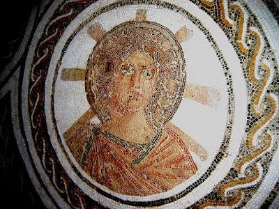 Apollo późnorzymska mozaika