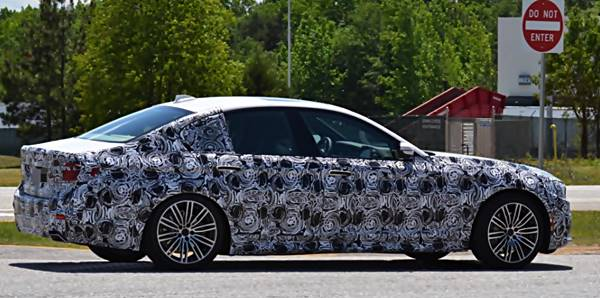2017 BMW 5 Series M550i G30 xDrive