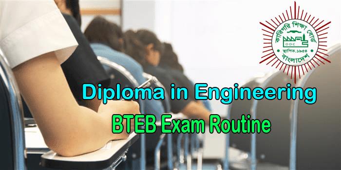 BTEB Routine 2019