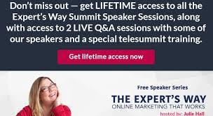 SkyRocket Your Career As An Expert Telesummit Speaker