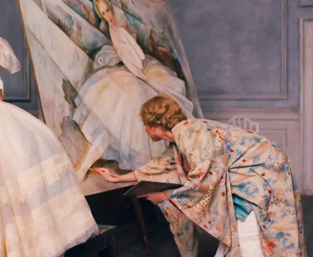 cena filme Gerda pintando