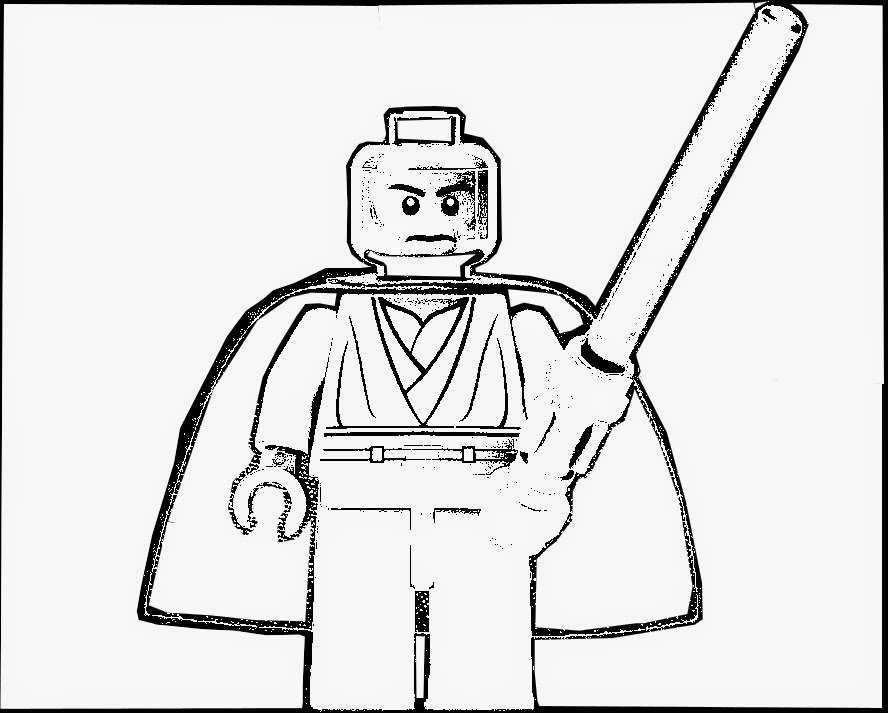 lego star wars coloring pages mace windu   Star Wars Mace Windu Coloring Pages Pictures to Pin on ...