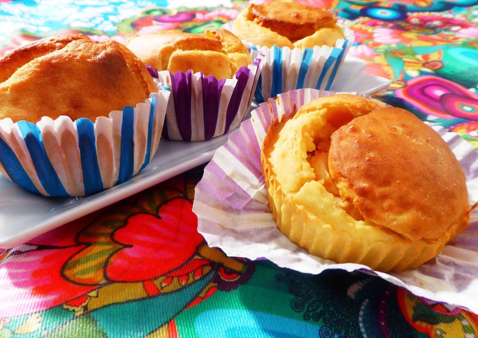 muffin di patata e salmone affumicato