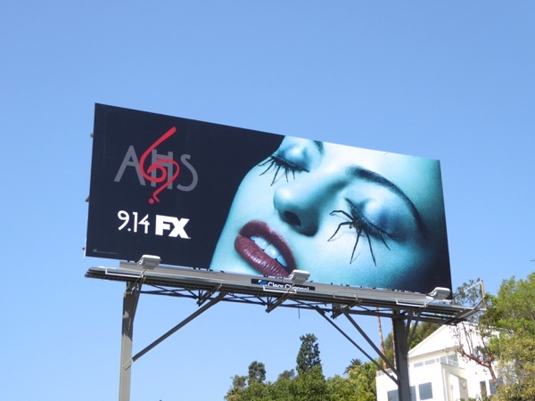 AHS ?6 6 spider eyes billboard