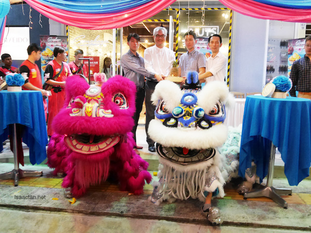 Lion Dance to commemorate the launch as well as Chinese New Year