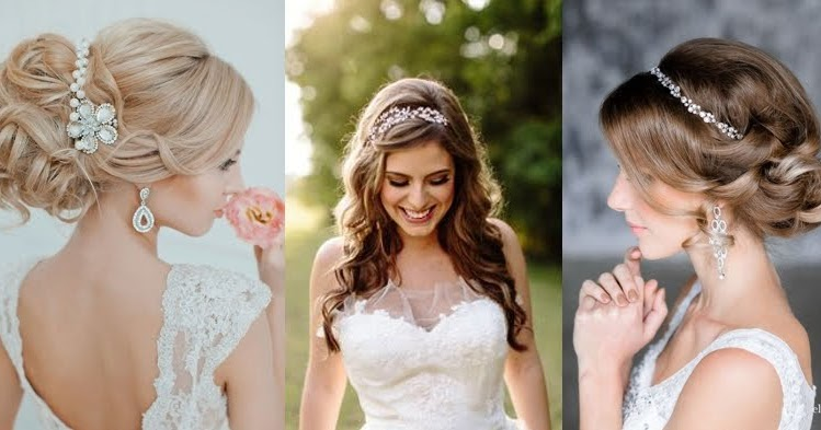 Stunning Wedding Hairstyles With Headbands