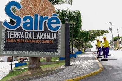 Manter município 'saudável' é prioridade em Sairé, diz prefeito