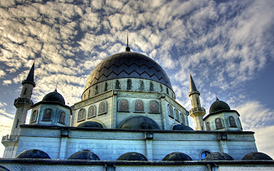 islamic mosque hd wallpaper