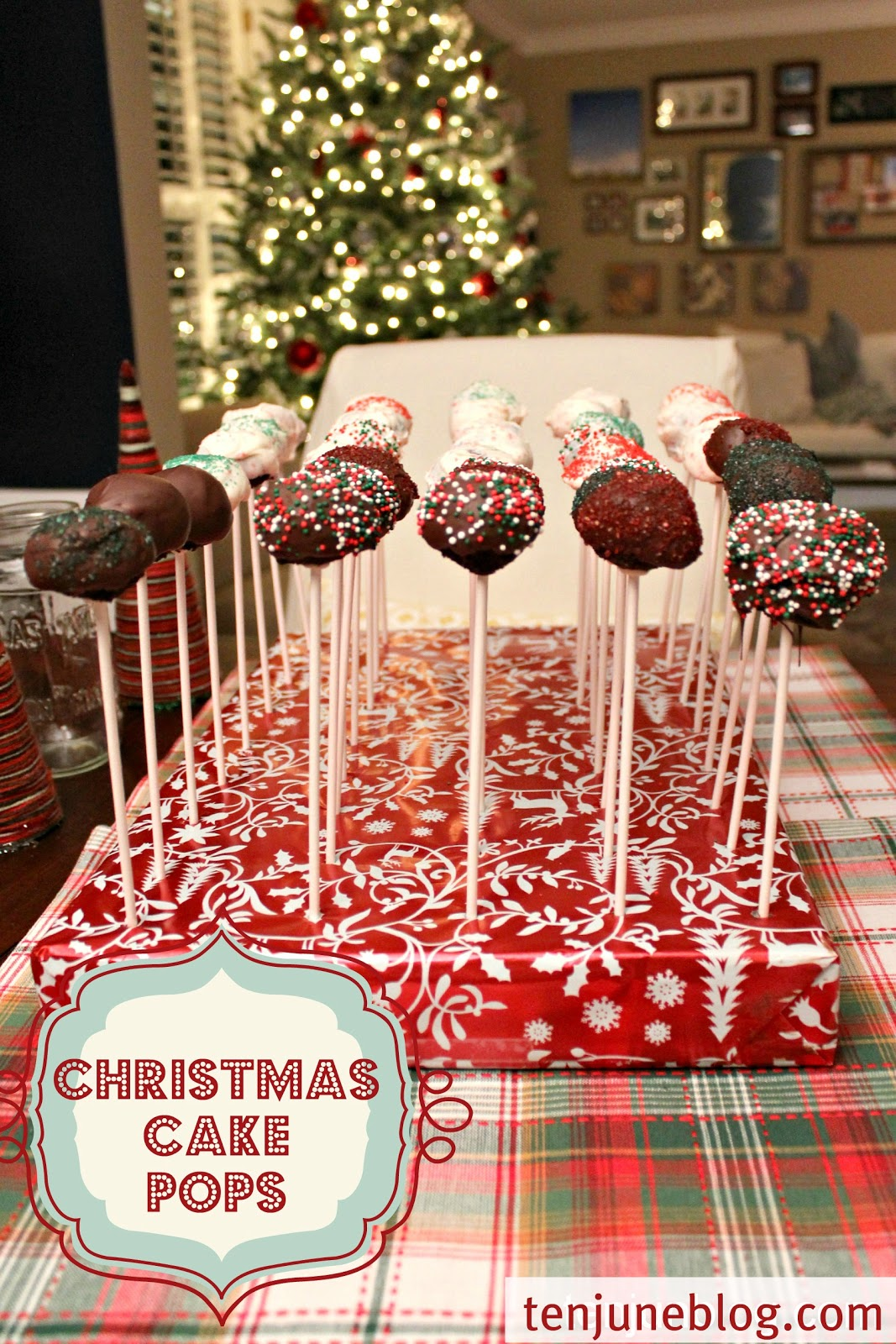 christmas cake pops ten june 10 do it yourself projects 2930