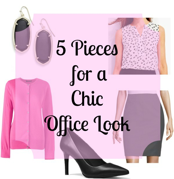 5 Pieces for a Chic Office Look