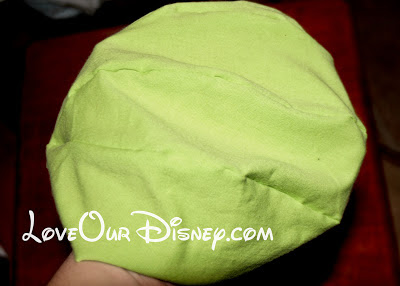 How to make your own stuffed Monsters Inc Mike Wazowski with FREE pattern! LoveOurDisney.com