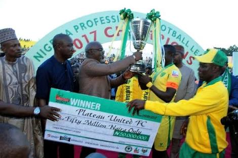 Governor Lalong host Plateau United
