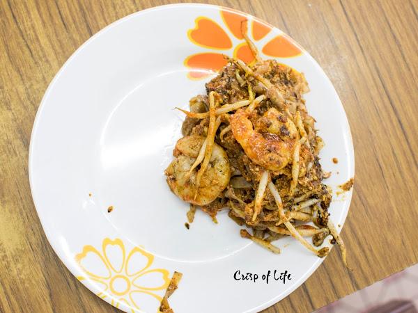 Char Koay Teow with the most distinctive presentation @ Wahong Kafe, Kampung Jawa