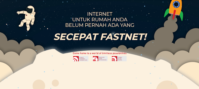 INTERNET FIRST MEDIA FASTNET - PROMO PAKET INTERNET FIRST MEDIA
