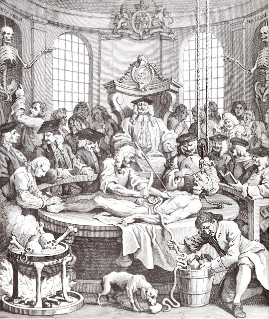 The Reward of Cruelty, an engraving by William Hogarth, (1697–1764)