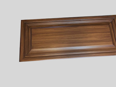 paint wood grain on vanity door