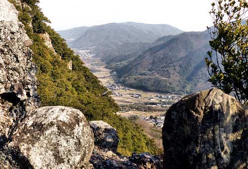 Approaching Kasagataki, Shodoshima.