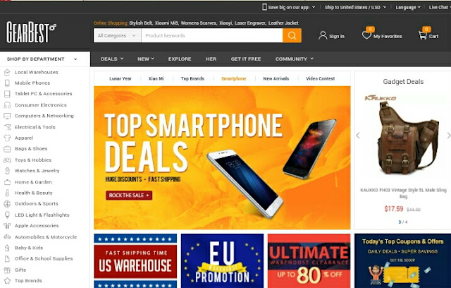 Belanja Gadget Online Murah Di Gearbest.com