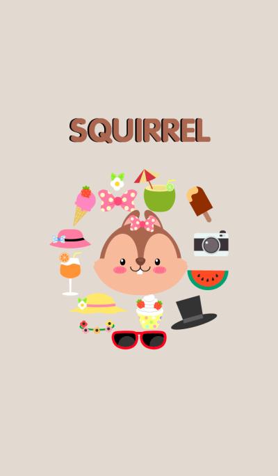 Accessories Squirrel Theme