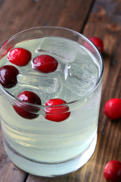 Cranberry Limoncello Spritzer from Snappy Gourmet