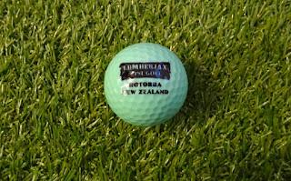 Ball from Lumberjax Mini Golf