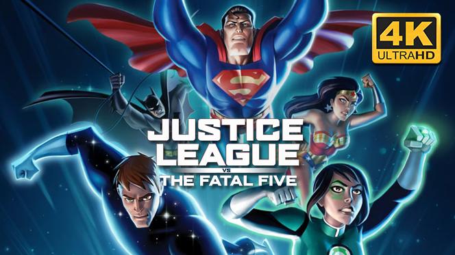 La Liga de la Justicia vs Los Cinco Fatales (2019) 4K UHD 2160p Latino-Ingles
