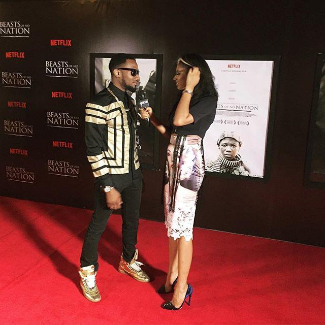 D'banj at Beast Of No Nation Lagos Premiere