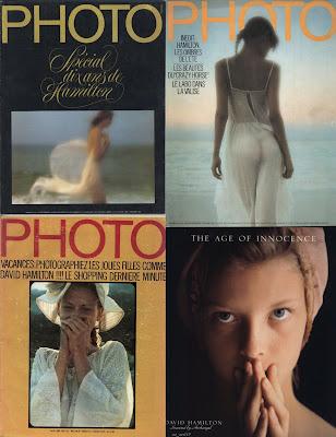 Полная коллекция фоторабот Дэвида Гамильтона / Complete collection of photographs by David Hamilton.