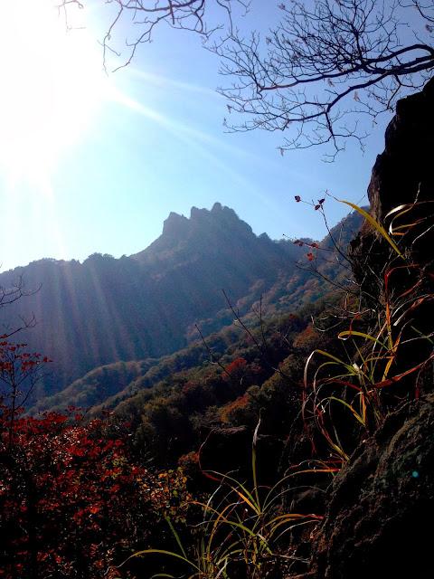 見覚えのある角度の妙義山
