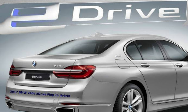 2017 BMW 740e xDrive Plug-In Hybrid
