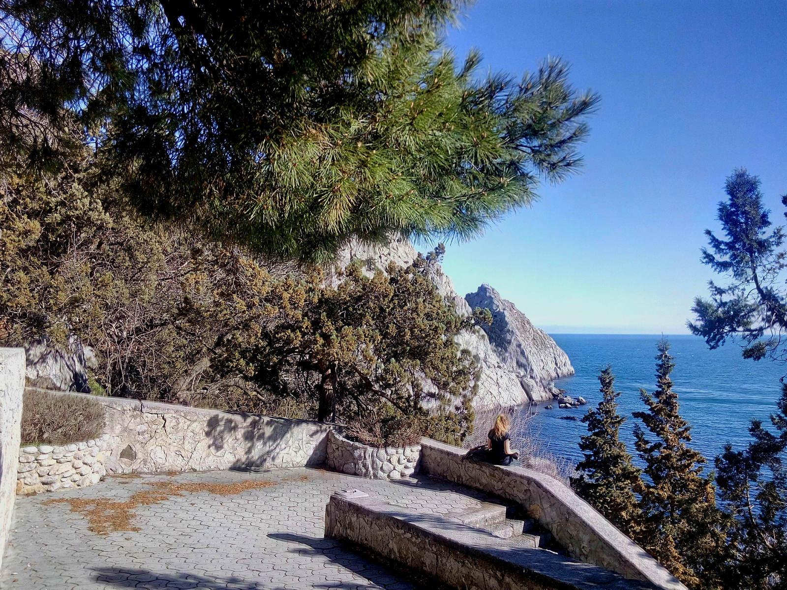Симеиз пляж Коралл